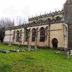 North Aisle harling repair including flintwork, stonework and repointing